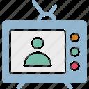 computer, desktop computer, desktop pc, lcd icon