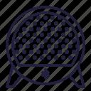 audio, bluetooth, music, speaker, volume, wireless icon
