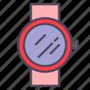 alarm, clock, schedule, smartwatch, time, timer, watch icon