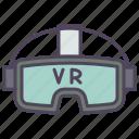 game, google, reality, video, virtual icon