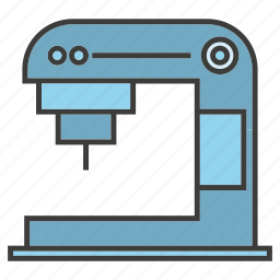 appliance, coffee machine, electrinoc, kitchen tool icon