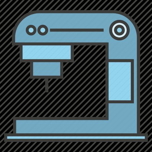 appliance, coffee machine, electrinoc, kitchen tool icon