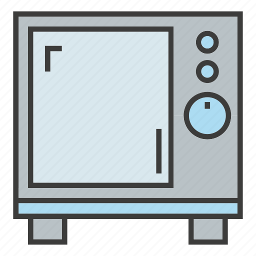 appliance, electronics, kitchen, microwave icon
