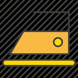 appliance, electronic, hardware, iron, press clothes icon