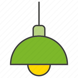 ceiling lamp, electronic, hanging lamp, lamp, light icon