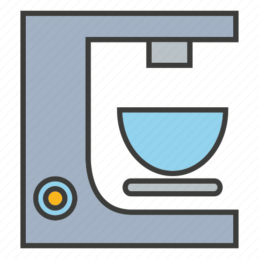 coffee machine, cup, drinks icon