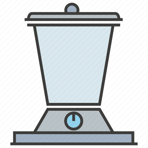blender, electronic, kitchen appliance, mix icon
