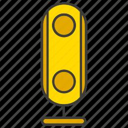 electronic, loudspeaker, sound icon