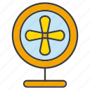 appliance, blower, electronic, fan, ventilator, wind icon