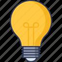 bulb, technology, electricity, illumination, light, idea, energy
