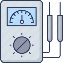 electric, meter, electricity, gauge, measure, computer, technology