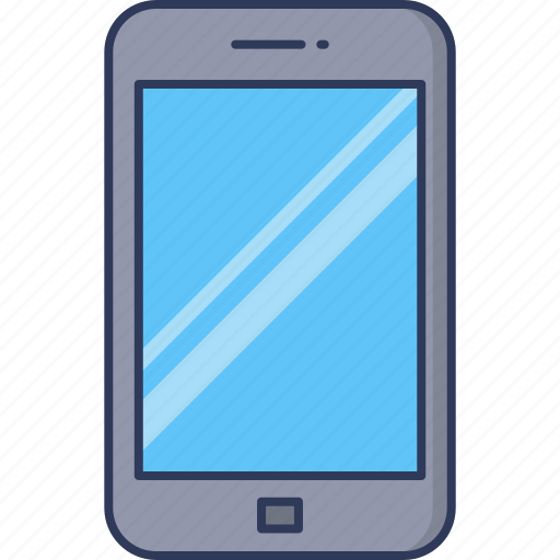 Smartphone, mobile, phone, telephone, technology, cellphone, screen icon - Download on Iconfinder