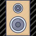 speaker, loudspeakers, woofer, audio, sound, multimedia, music