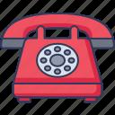 telephone, old, phone, technology, set, communications, call