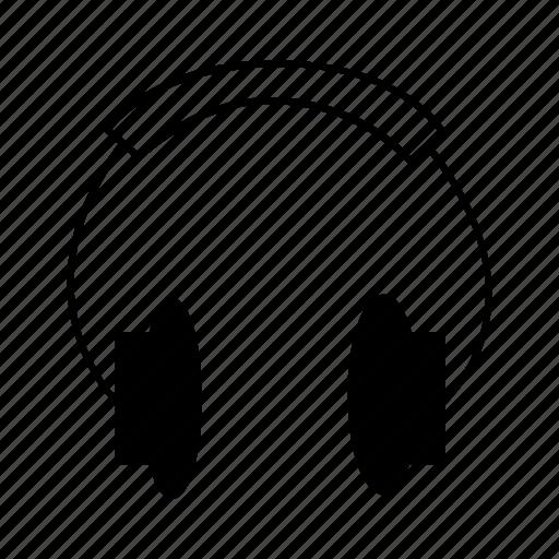 audio, electronics, equipment, headphones, music, sound icon