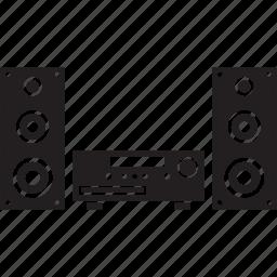 audio, sound, speaker, speakers, system icon