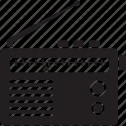 device, portable, radio, radio receiver, receiver icon