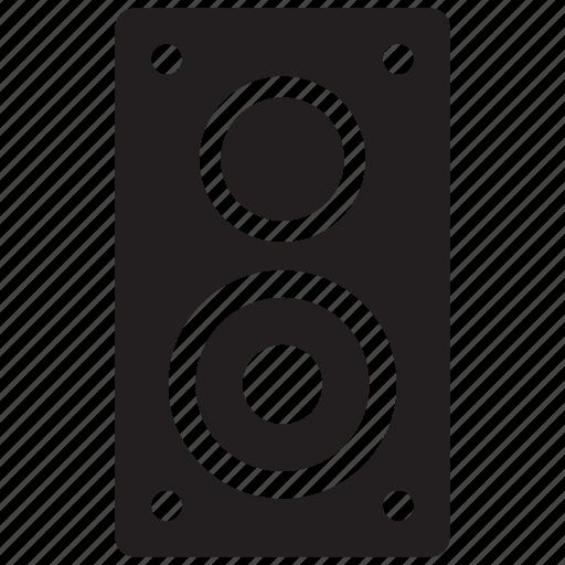 audio, hifi, speaker icon