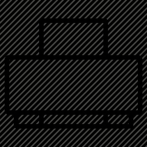 Device, machine, print, printer, printing icon - Download on Iconfinder