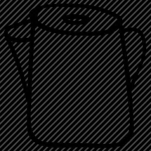 coffee maker, electric kettel, kettle, teakettle icon