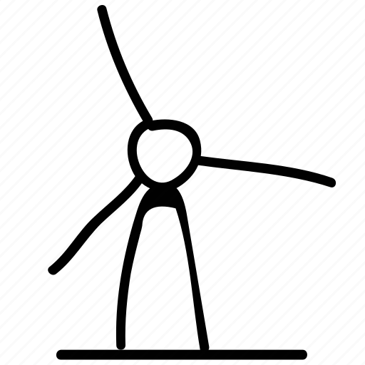 mill, turbine, wind engine, windmill icon