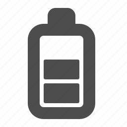 battery, electronics, empty, energy icon