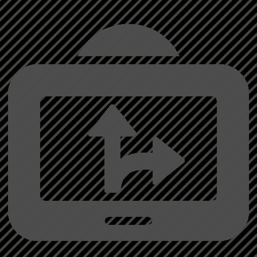 gps, navigation icon