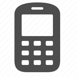 electronics, mobile, phone icon