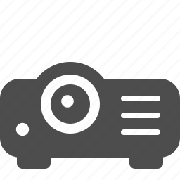 projection, projector icon