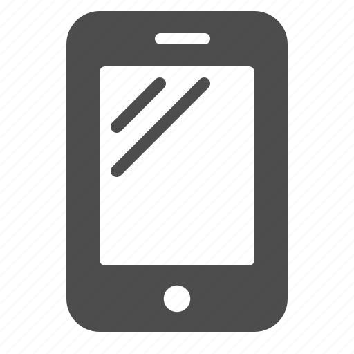 mobile phone, phone, smartphone, touchscreen icon