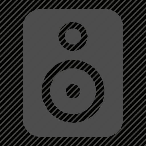 Speaker, subwoofer, music, audio icon