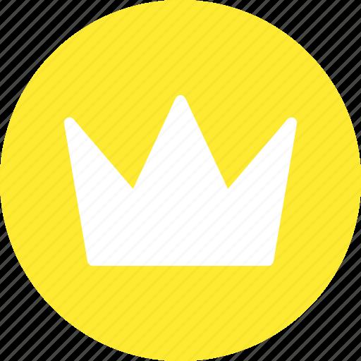king, kingdom, prince, royal crown, throne icon