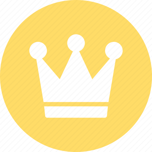 crown, king, kingdom, royal crown icon