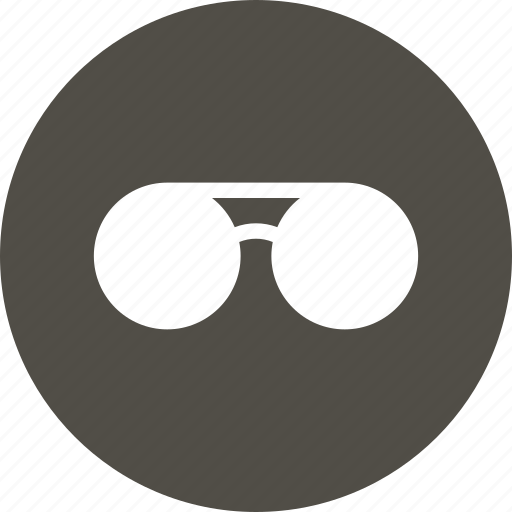 eyeglasses, glasses, sight, view icon
