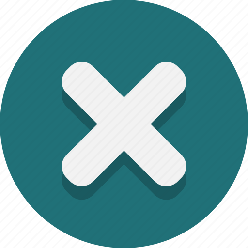 cancel, cross, decline, no, web icon
