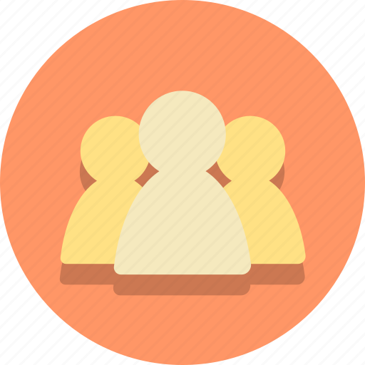 buisness, clients, customers, group, person, users, web icon