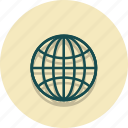 earth, global, globe, location, web, world icon
