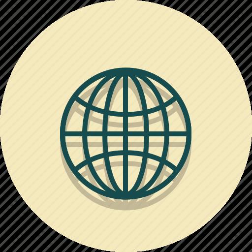 earth, global, globe, location, web, world icon