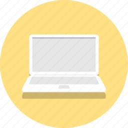 computer, device, laptop, netbook, office, web, work icon