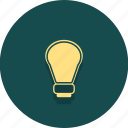 buisness, creative, electric, idea, light, lightbulb, web icon