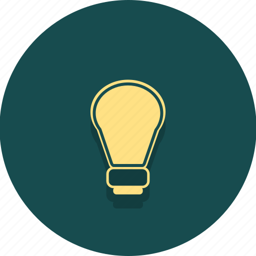 buisness, creative, electric, idea, light, lightbulb, web icon