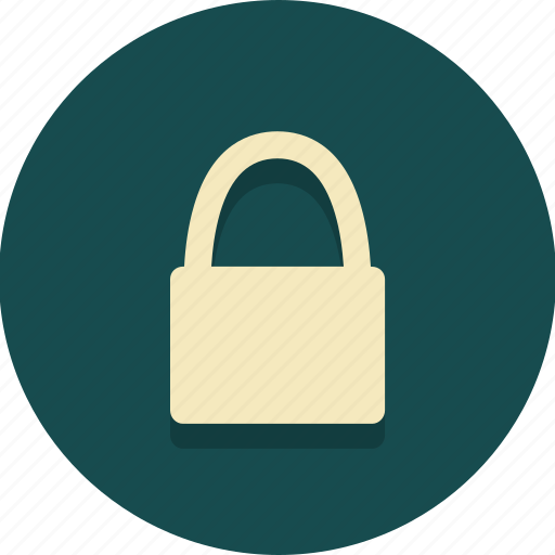 loced, lock, login, padlock, protect, secure, web icon