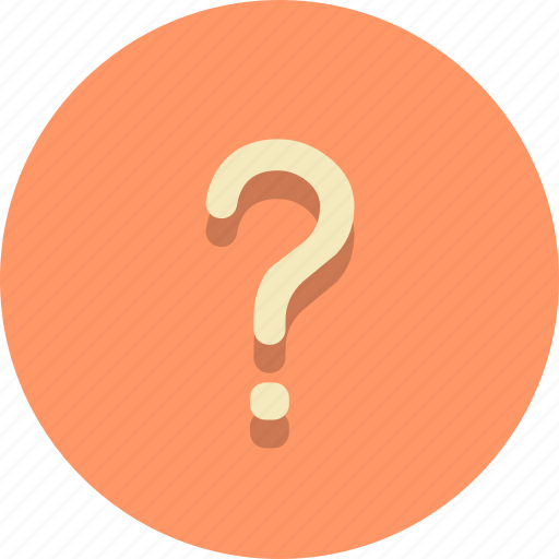ask, confirmation, question, sign, support, web icon
