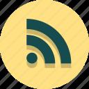 channel, rss, social, feed, media, web