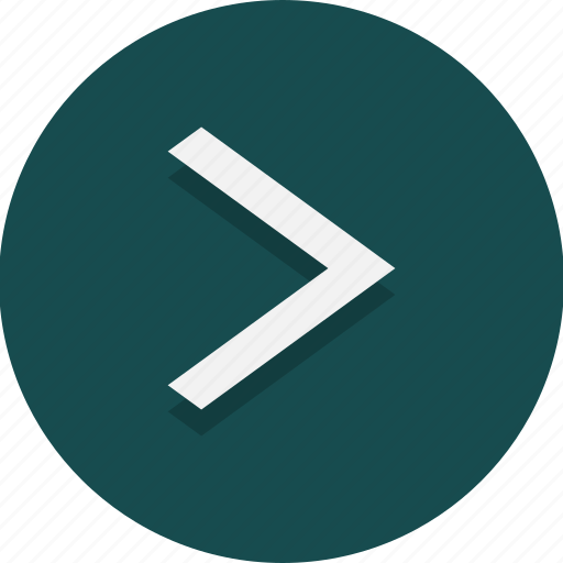arrow, direction, forward, next, right, web icon