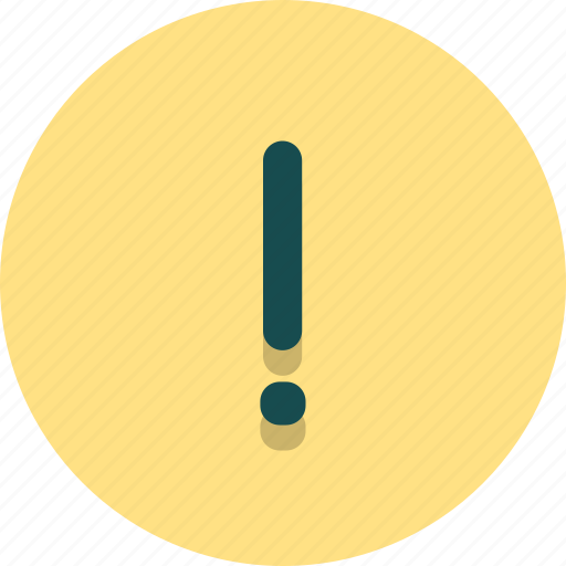 attention, caution, exclamation, sign, warning, web icon