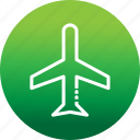 airplane, flight, mode, plane, transportation, travel icon