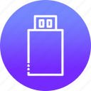 connection, signal, usb, web, wireless icon