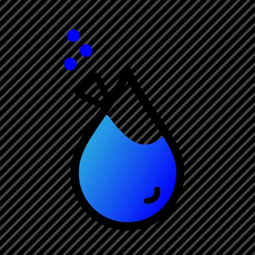 elixir, magic, potion, rain, wet icon