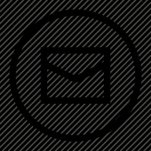 Bubble, communication, envelope, inbox, mail, message, send icon - Download on Iconfinder